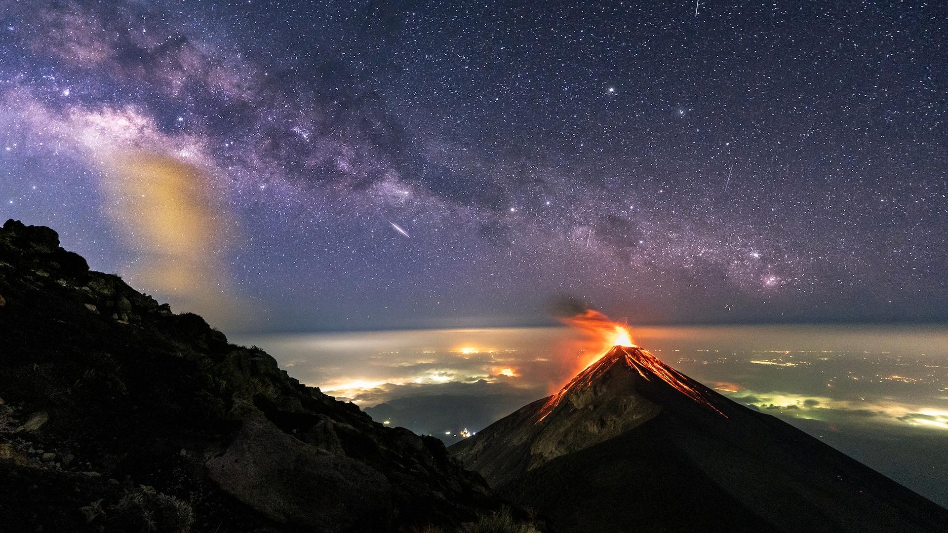 ¿Qué es un volcán y qué causa su erupción?