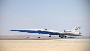 X-59 QueSST: el nuevo avión supersónico de la NASA que no hace ruido