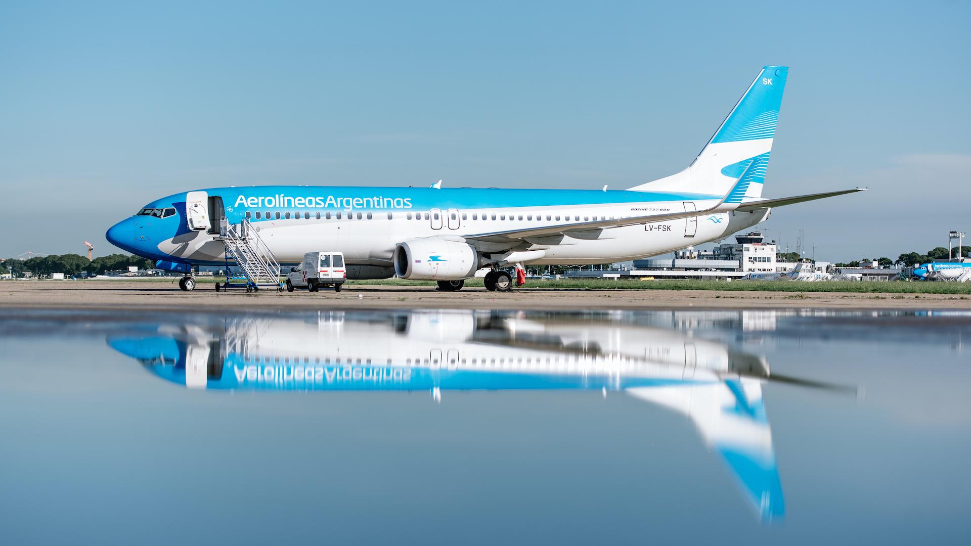 Vuelven los vuelos a Chile, Brasil y la región desde Aeroparque