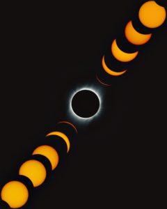 El mapa que muestra dónde ver el eclipse total de sol de 2020 en Argentina