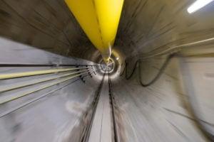 Así avanza el novedoso túnel que construye Elon Musk en Las Vegas