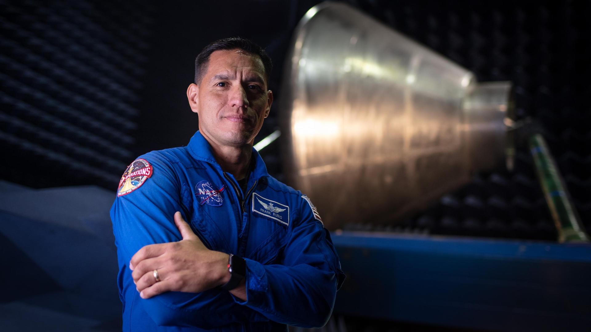 Frank Rubio: este el primer astronauta latino que podría viajar a Marte