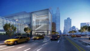 Así quedará el centro de convenciones Javits Center en Nueva York
