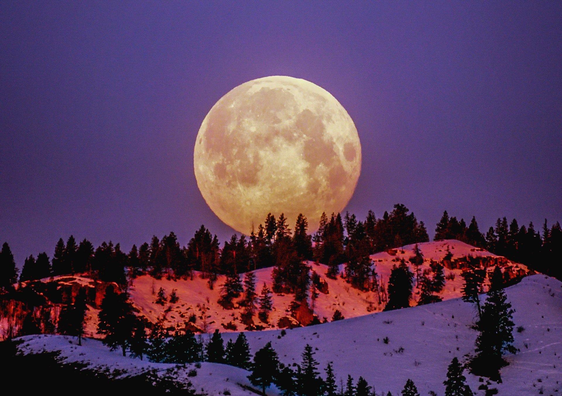 Cuándo veremos la próxima Luna Llena? Calendario espacial ...