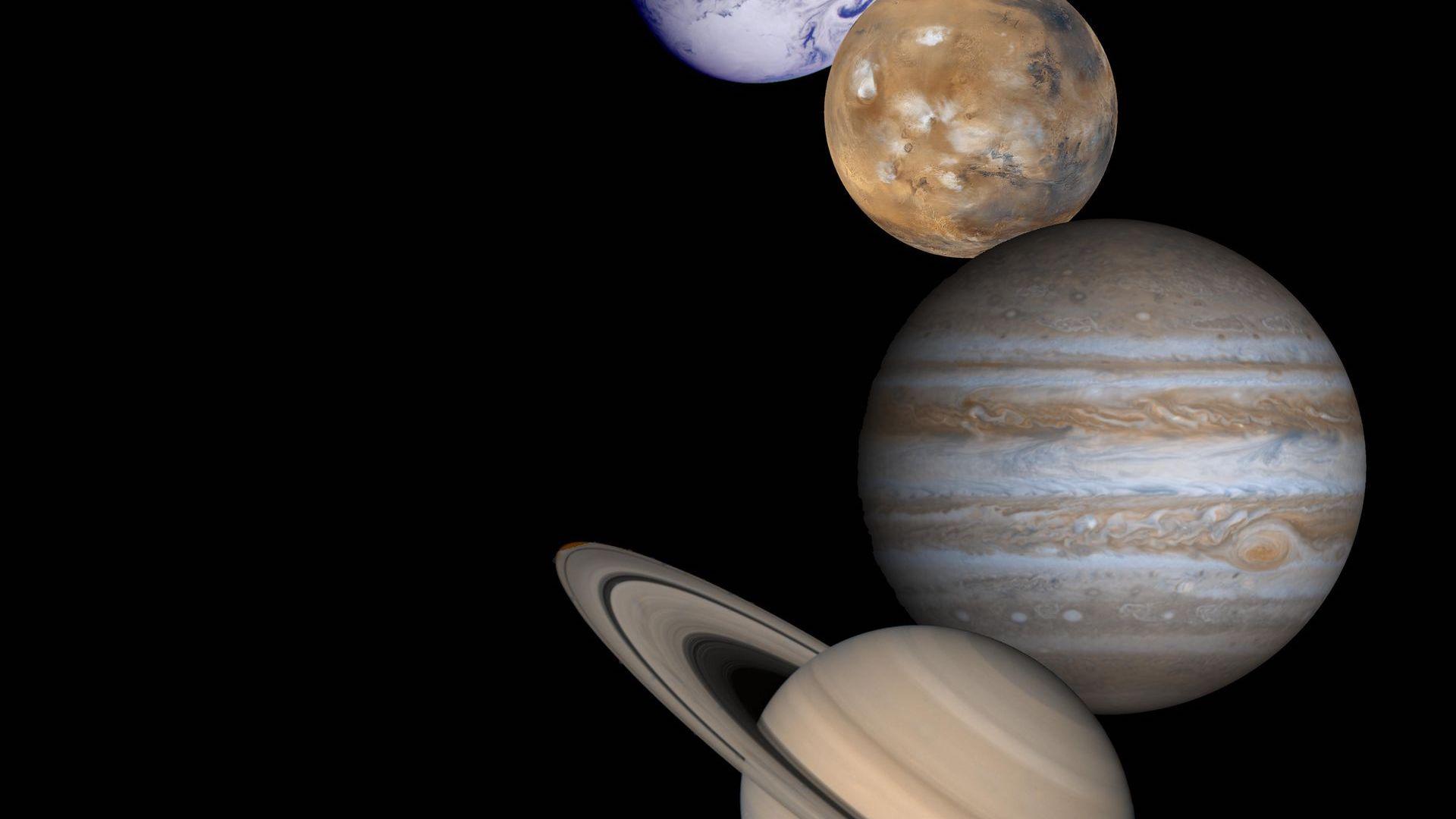 En febrero de 2020 veremos a Marte, Júpiter y Saturno a simple vista