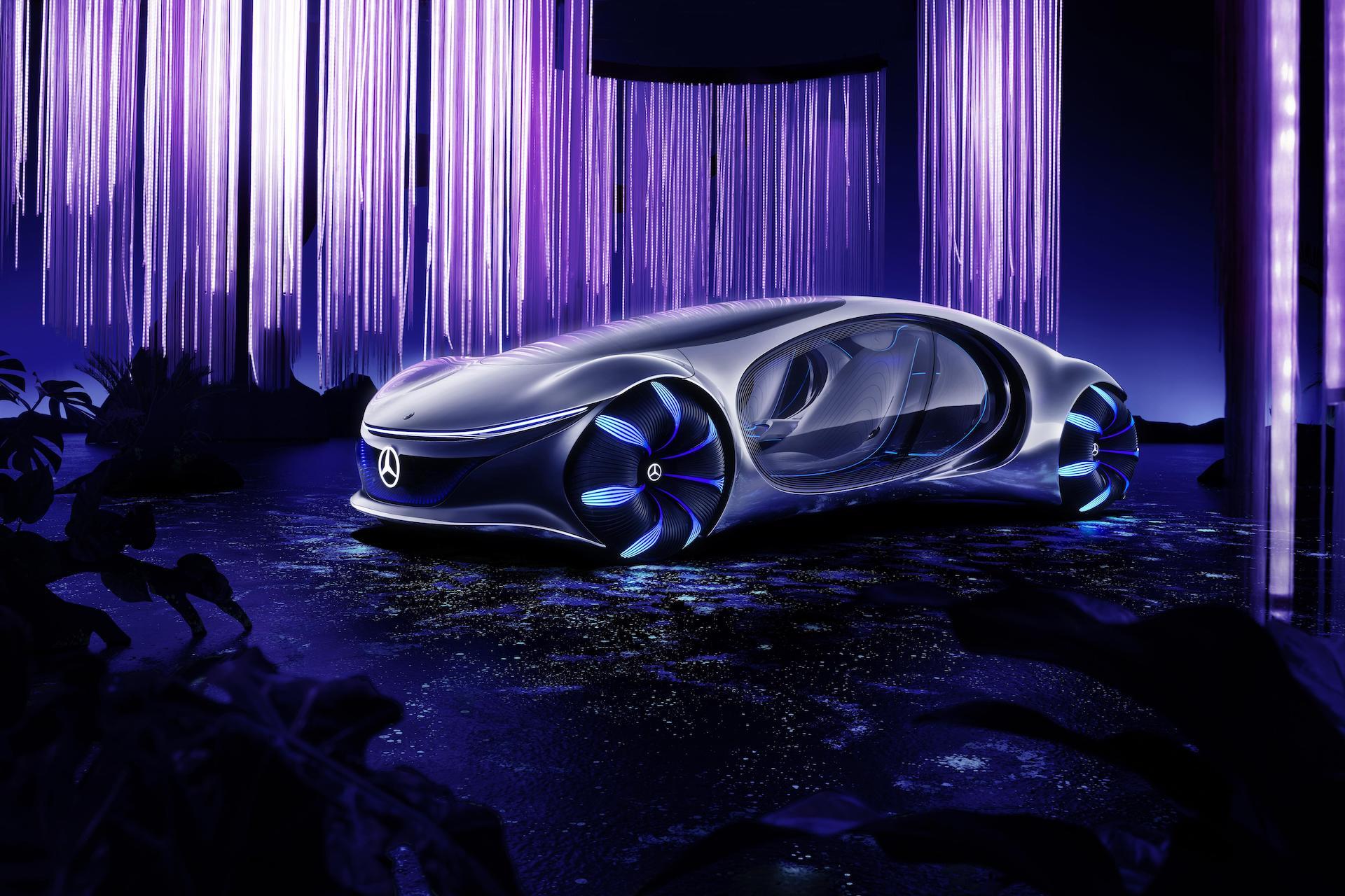 Este es el nuevo prototipo de Mercedes-Benz inspirado en Avatar