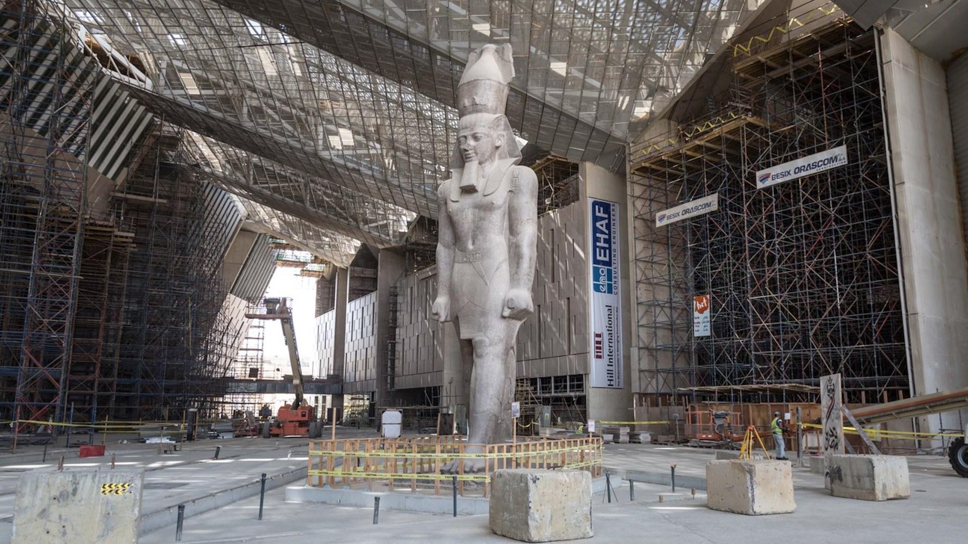 Inaugura el Gran Museo Egipcio, el museo arqueológico más grande del mundo