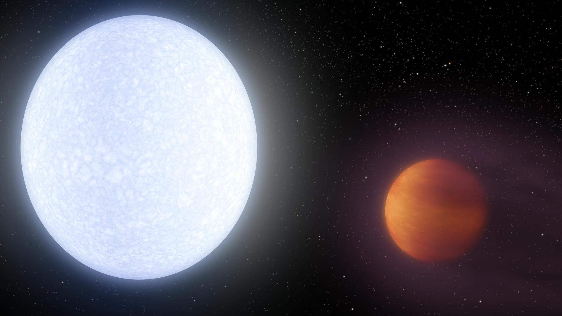 El exoplaneta que es más caliente que una estrella: 4.300 grados Celsius