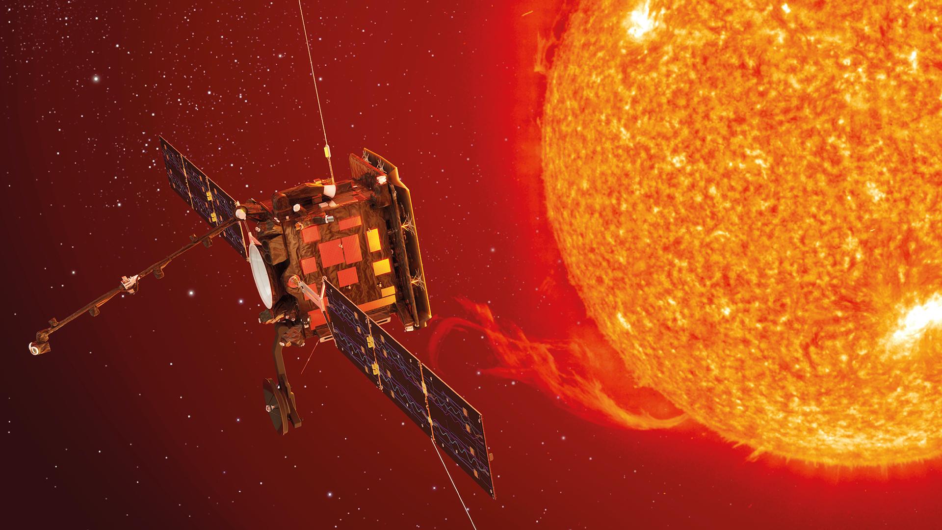 Solar Orbiter: la misión espacial que estudiará de cerca al Sol
