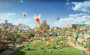 Así será el parque temático Super Nintendo Land: video