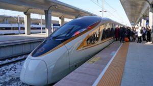 Este es el primer tren bala sin conductor: viaja a 350 km/h