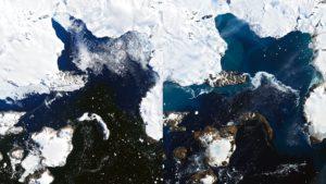Ola de calor en la Antártida: derretimiento de glaciares en tiempo récord