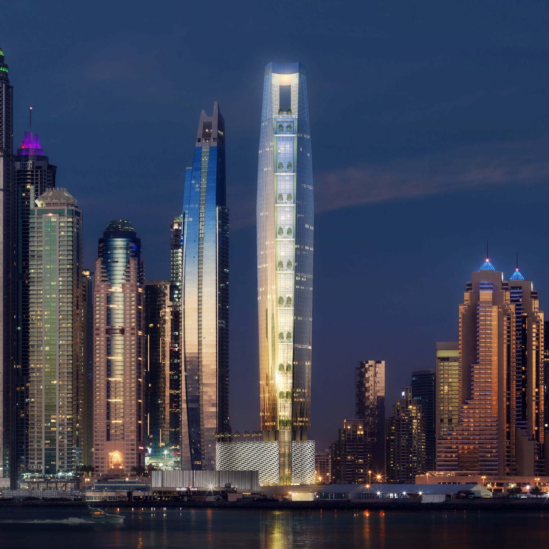 El video que muestra cómo será el hotel más alto del mundo