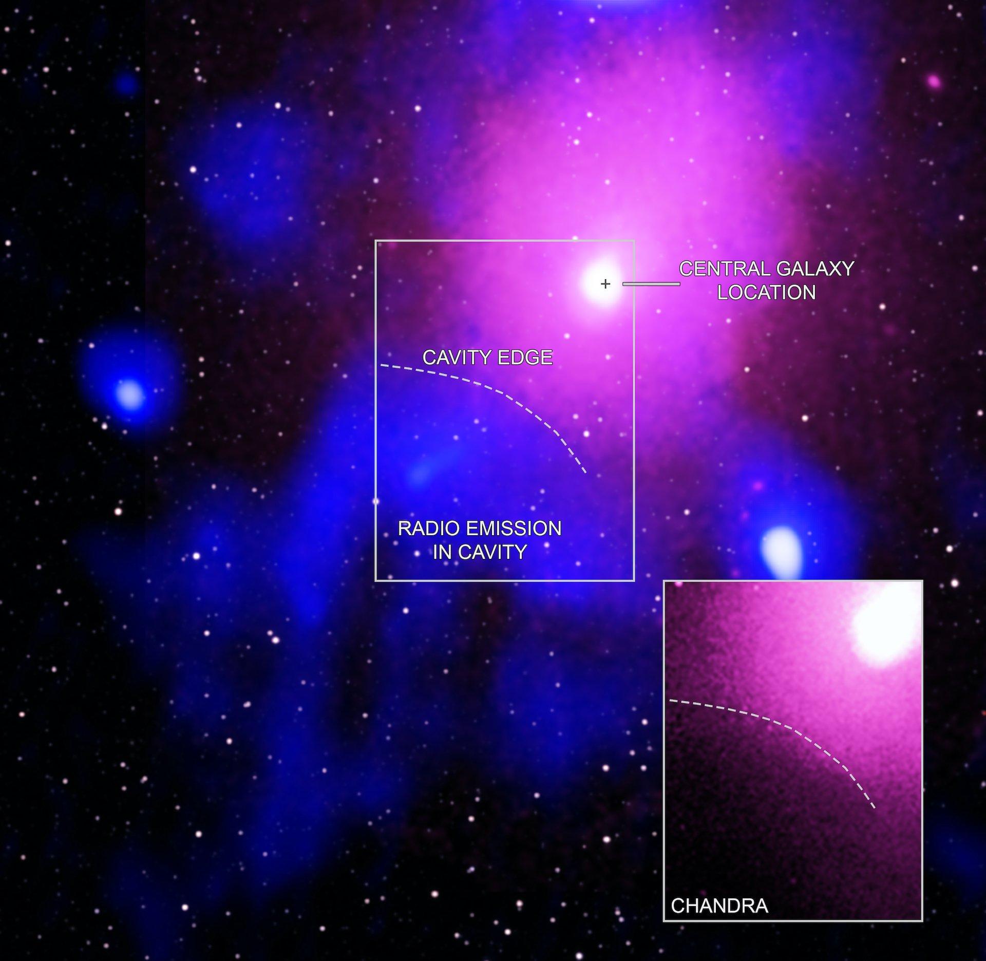 Detectaron la mayor explosión de un agujero negro en el universo