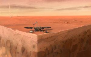 La NASA detectó martemotos, sismos en Marte