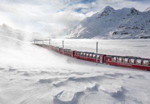 Viajando en tren por Suiza con el Grand Train Tour