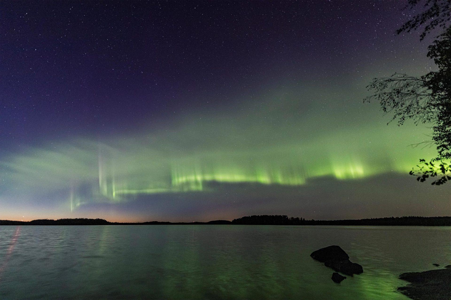 Así son las dunas boreales, un nuevo tipo de aurora boreal