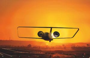 Este es el innovador y moderno taxi aéreo silencioso creado por e.SAT