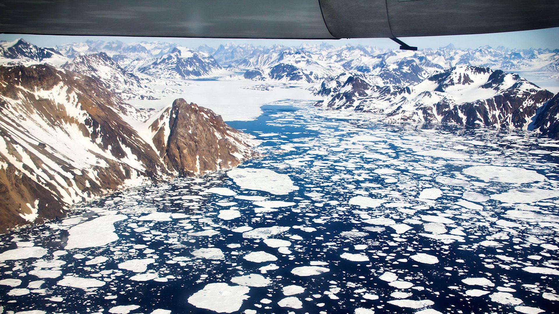 Derretimiento de glaciares sube nivel del mar a 2.2 mm — Groenlandia