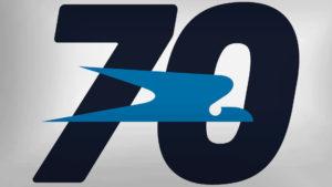 Aerolíneas Argentinas presentó su logotipo 70 aniversario