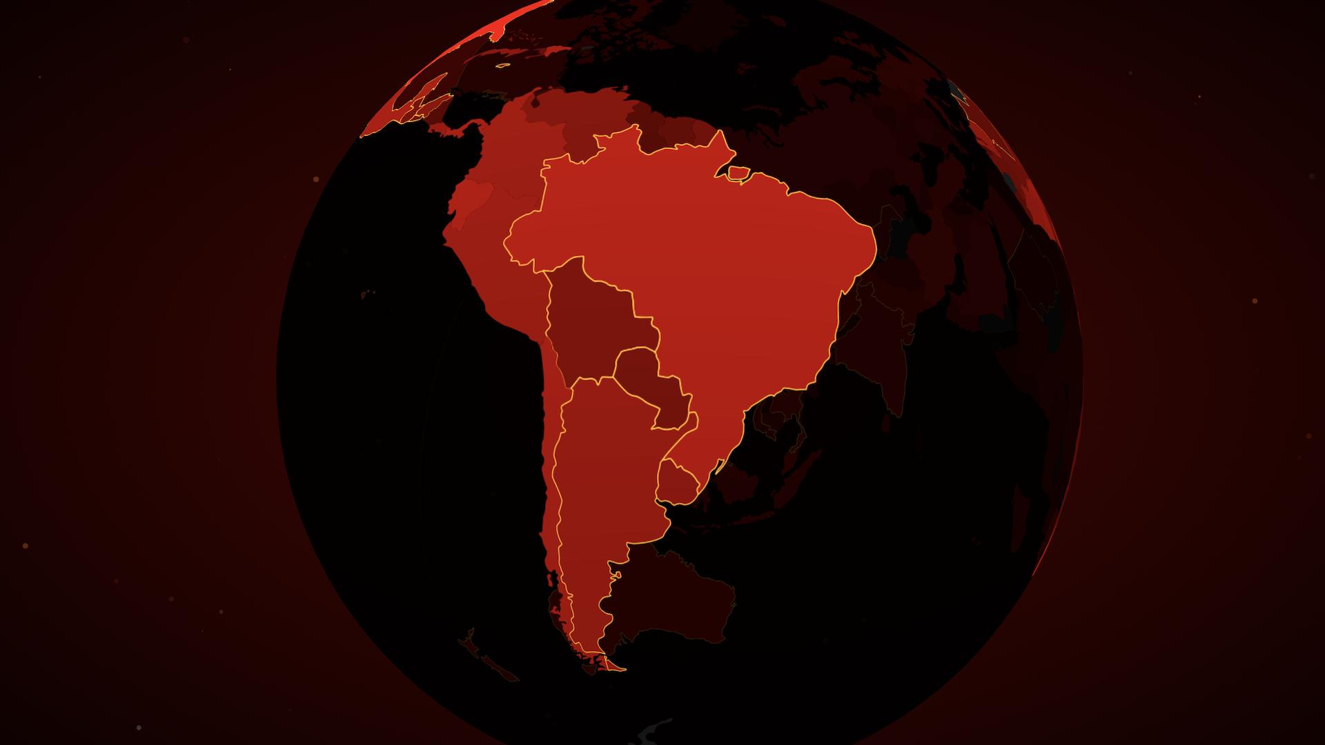 El mapa interactivo que muestra los casos de coronavirus en tiempo real