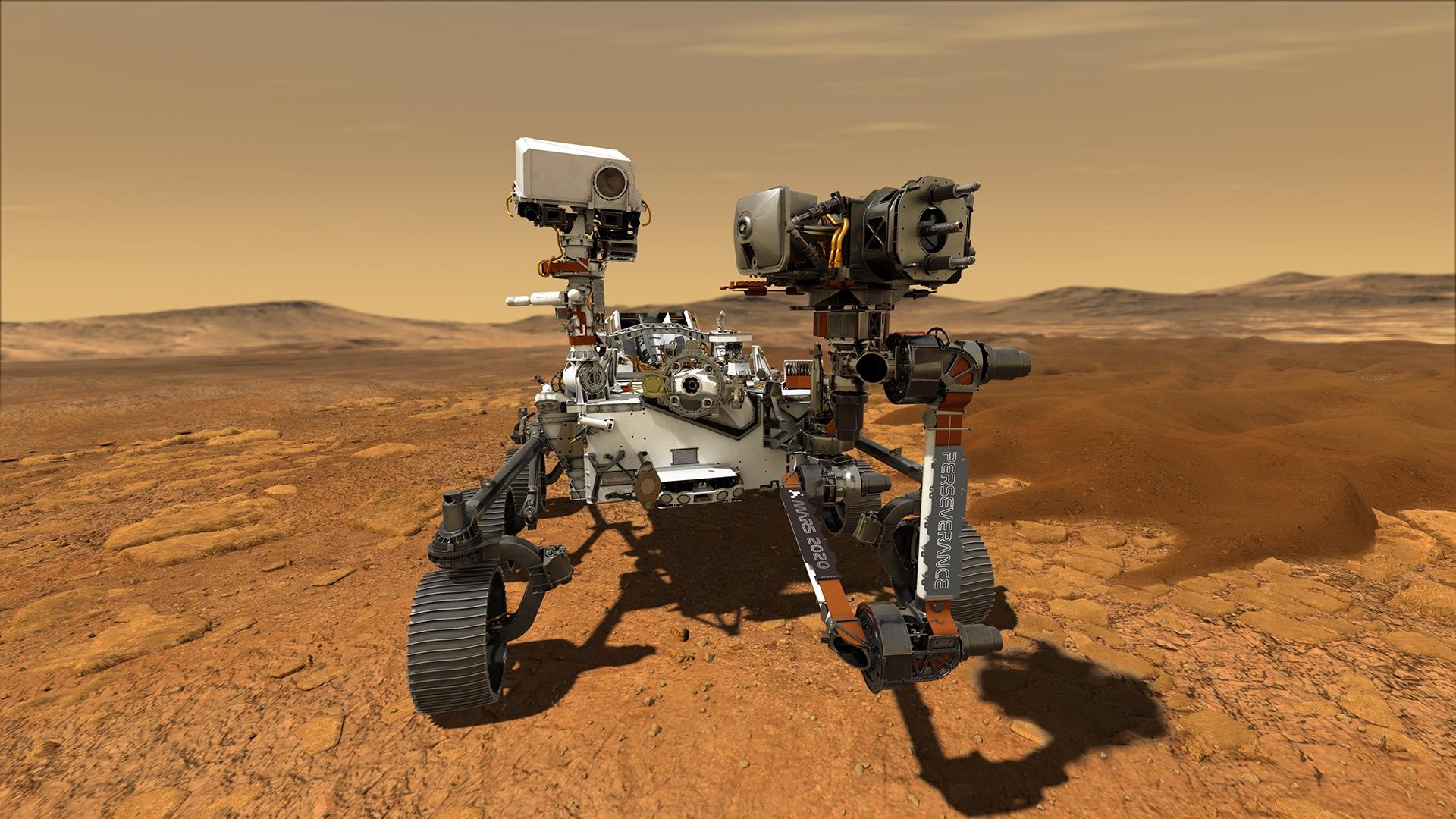 En 2021 aterriza una nueva misión a Marte: Perseverance