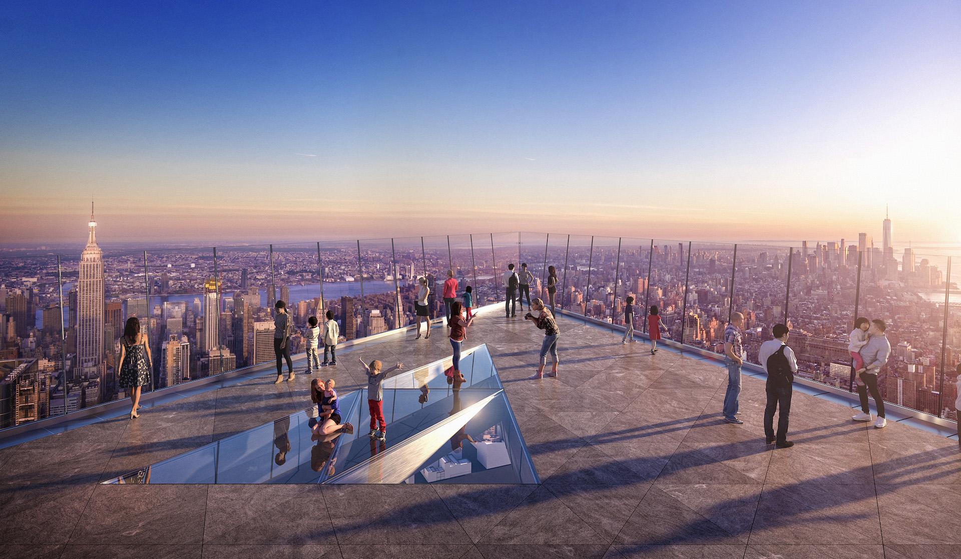 Inaugura The Edge Hudson Yards, el observatorio más alto de Nueva York