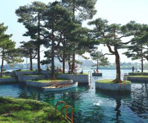 Parkipelago: el sorprendente parque de islas flotantes en Copenhague