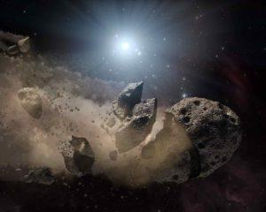¿Qué son los asteroides y de dónde vienen?
