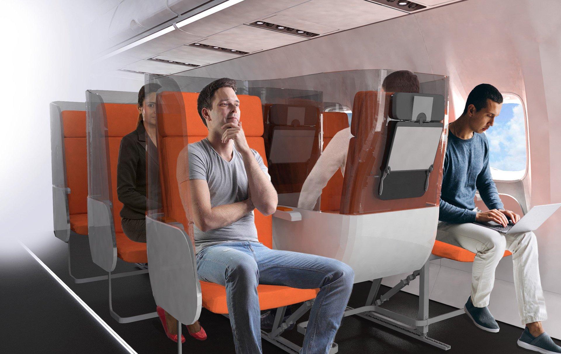 ¿Cómo será viajar en aviones tras el coronavirus?