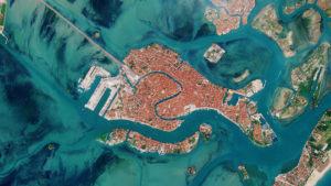 Así se ve Venecia desde el espacio tras el brote del coronavirus