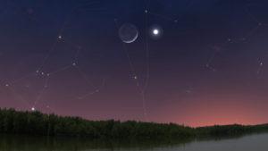 Esta semana Venus en su punto más brillante de 2020