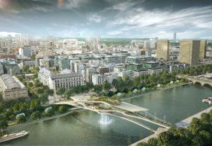 Babylon Bridge: el maravilloso puente en París con cascada incluida