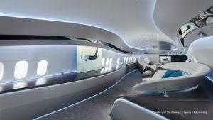 Así es Genesis, el lujoso interior de jet privado para los Boeing 737 Max