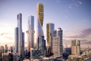 Así será el rascacielos más alto de Australia: The Green Spine