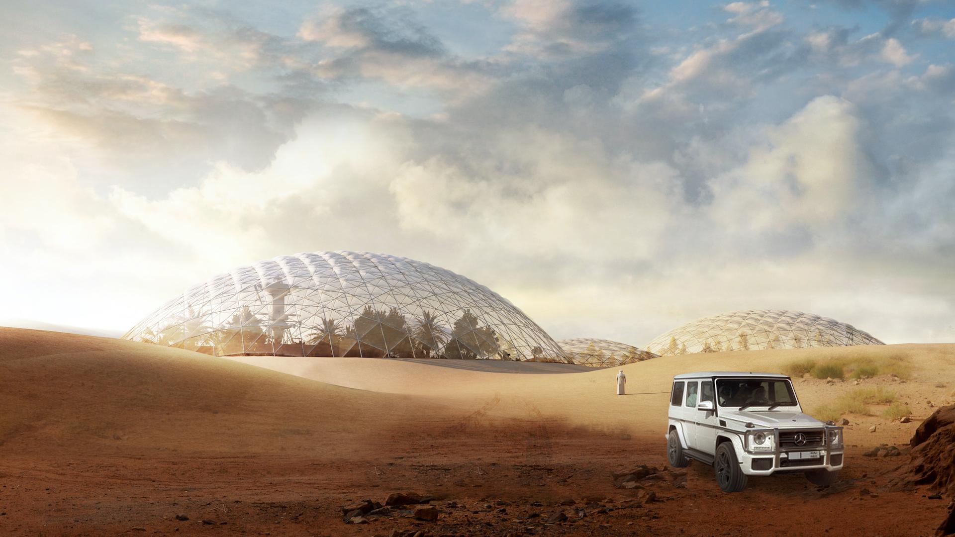 Así será la ciudad marciana que construirán en Dubái