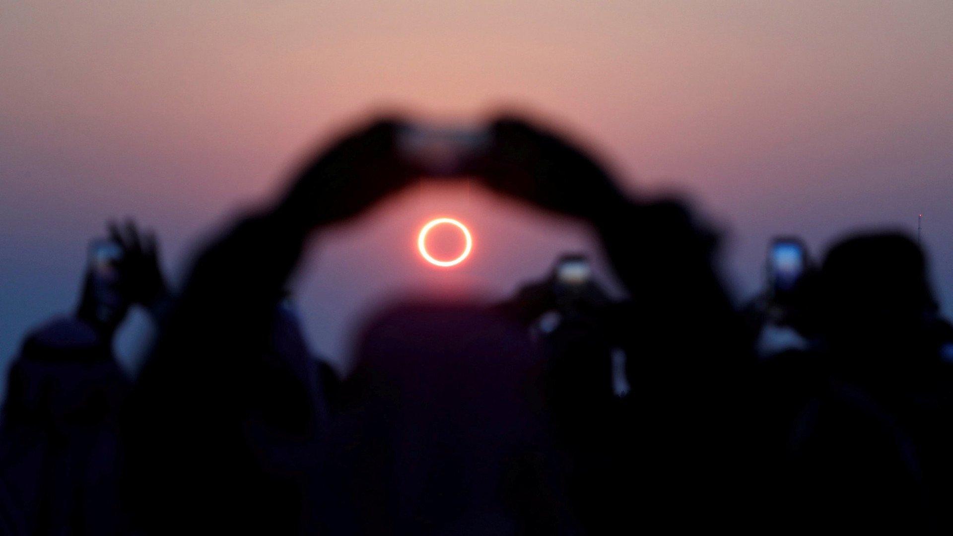 Llega el mejor eclipse solar de anillos de fuego de la década
