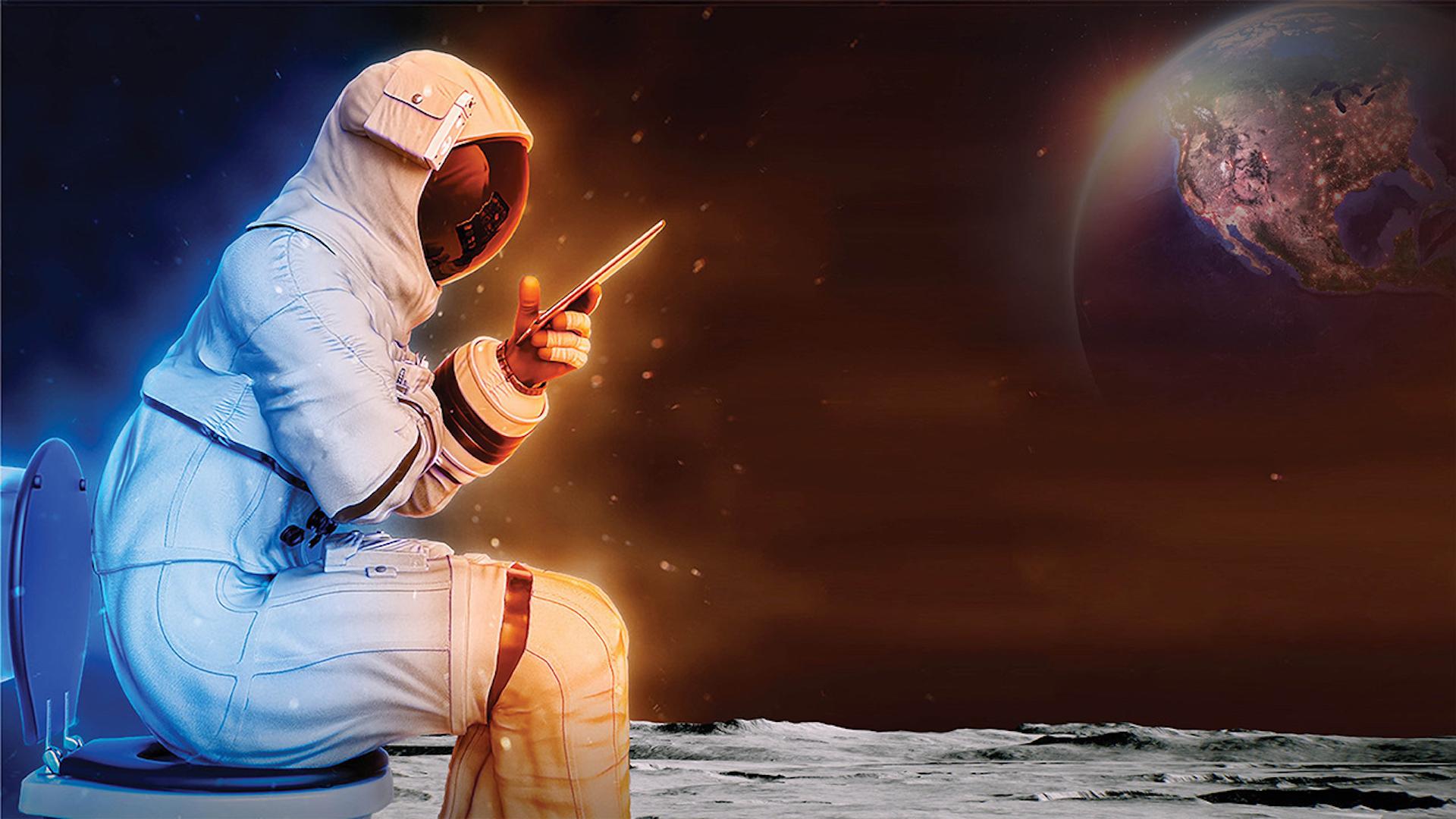 La NASA lanzó concurso para crear el mejor inodoro para usar en la Luna