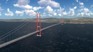 Así será el puente suspendido más largo del mundo: tendrá más de cuatro kilómetros