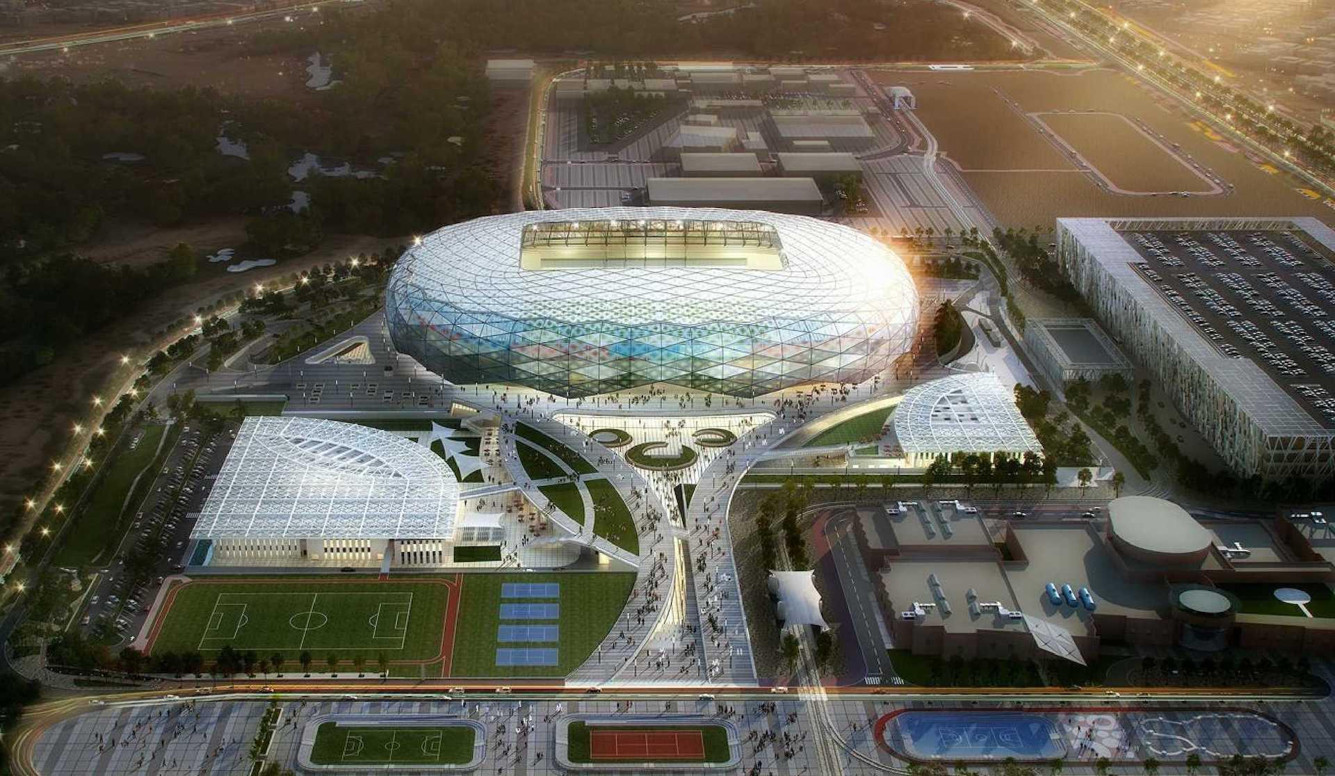 Así es el nuevo estadio para el Mundial Qatar 2022