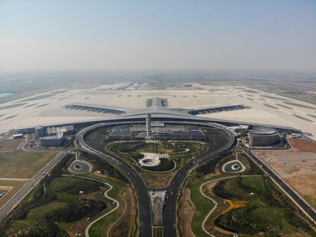 Qingdáo: el nuevo mega aeropuerto en China con forma de esponja