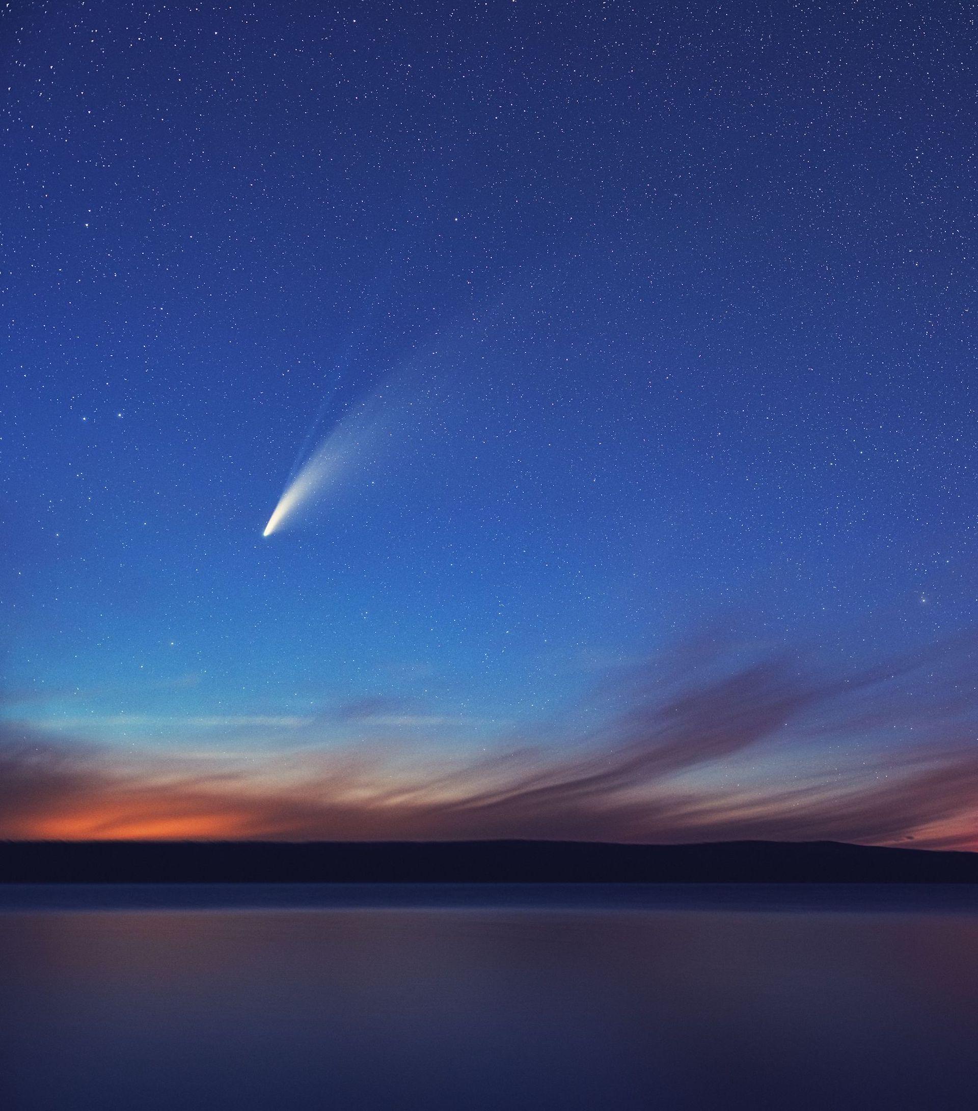 A qué hora y día ver pasar el cometa NEOWISE por nuestra ciudad