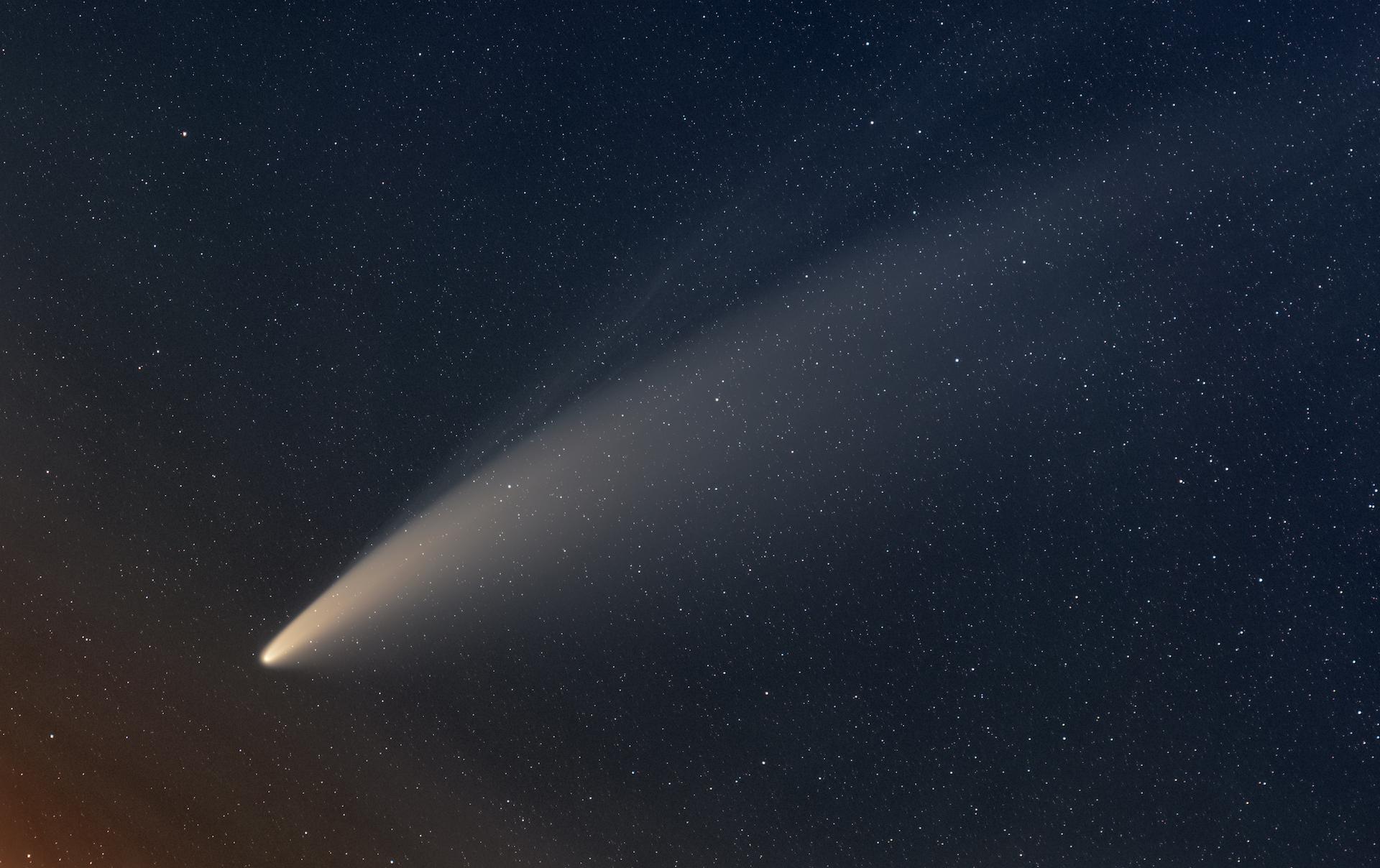 Cuándo ver NEOWISE, el cometa de la década: imágenes