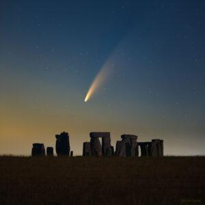 ¿Se puede ver a simple vista y sin telecoscopio al cometa NEOWISE?