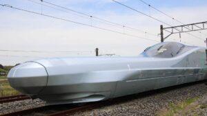 Este es el nuevo tren bala en Japón: más rápido, suave y seguro