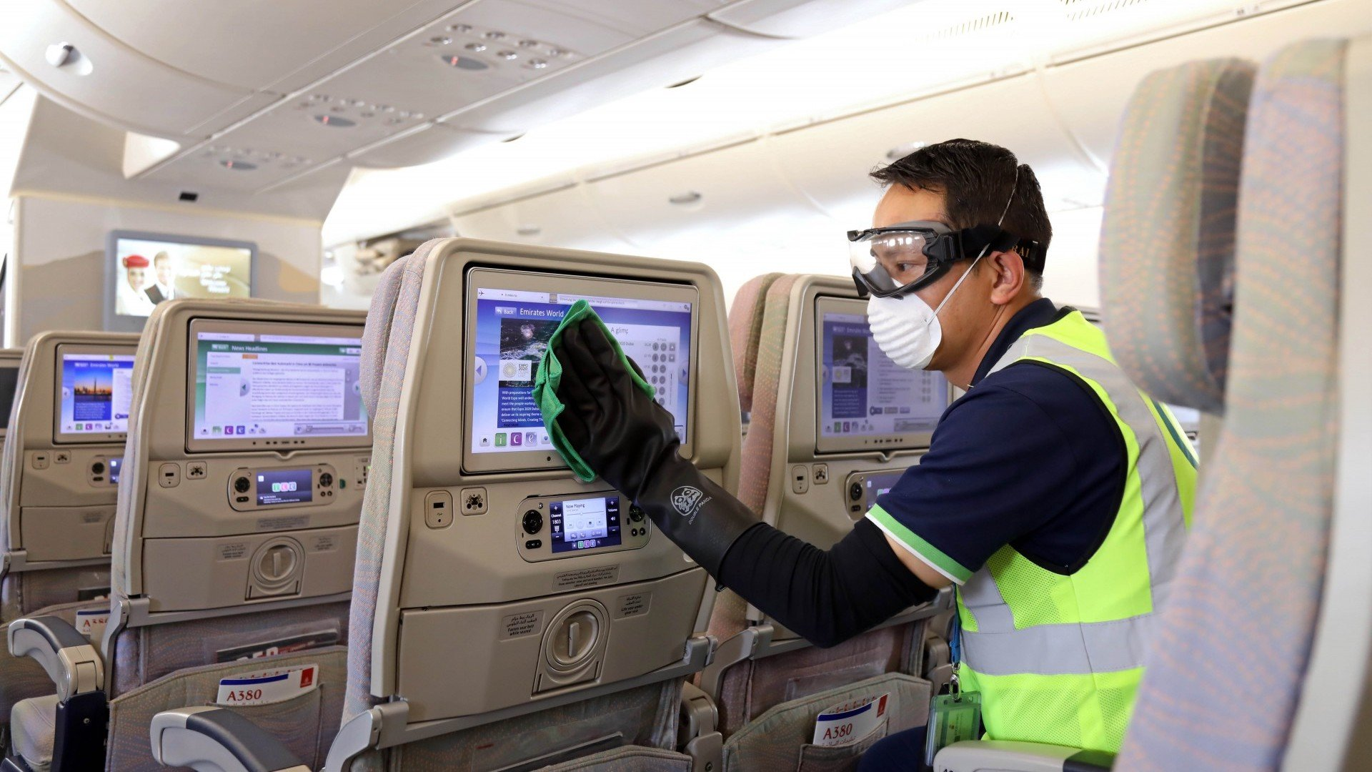 ¿Qué posibilidades hay de contagiarse de coronavirus en un avión?