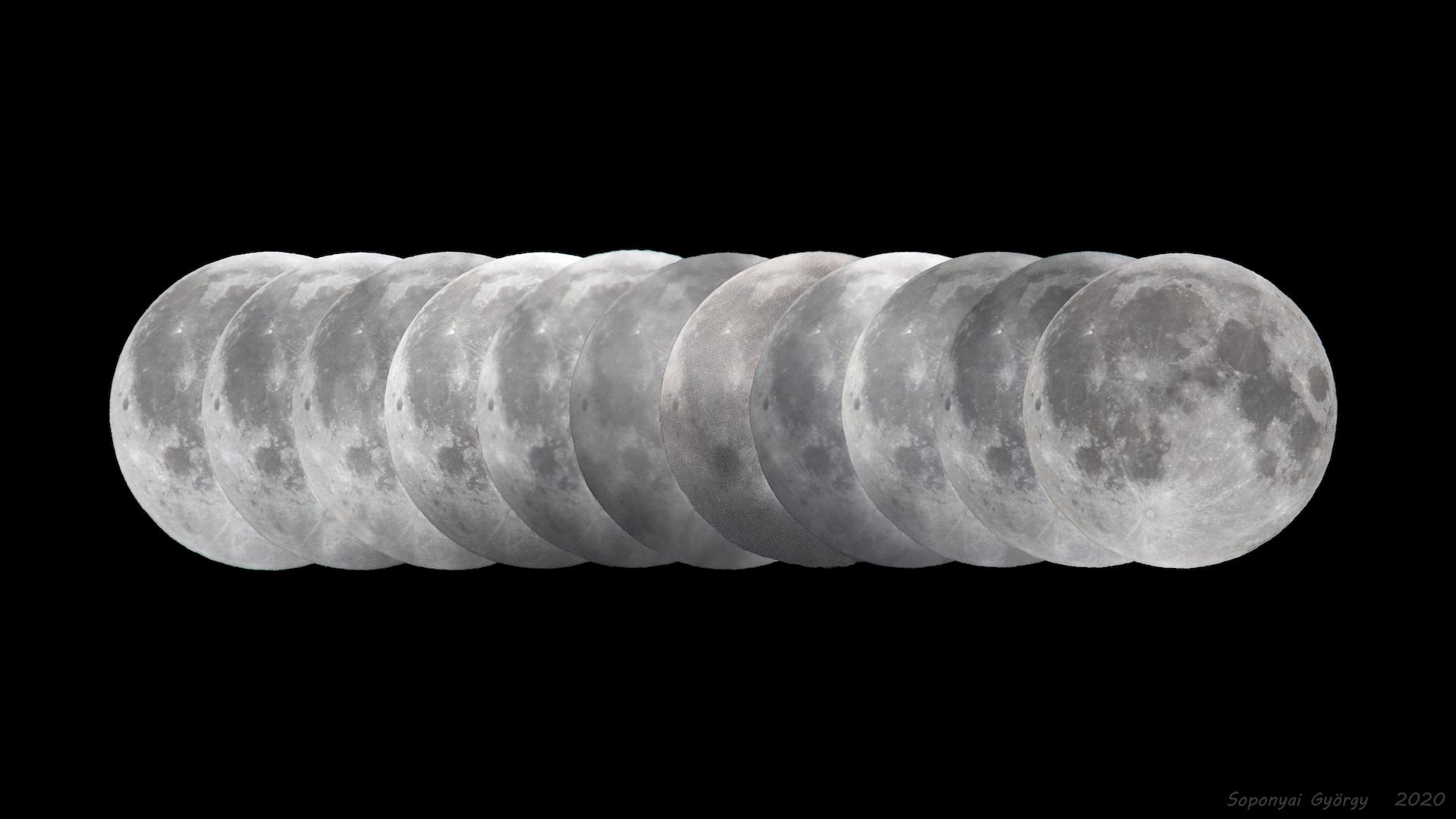 Cuándo será el último eclipse lunar de 2020: llega en noviembre