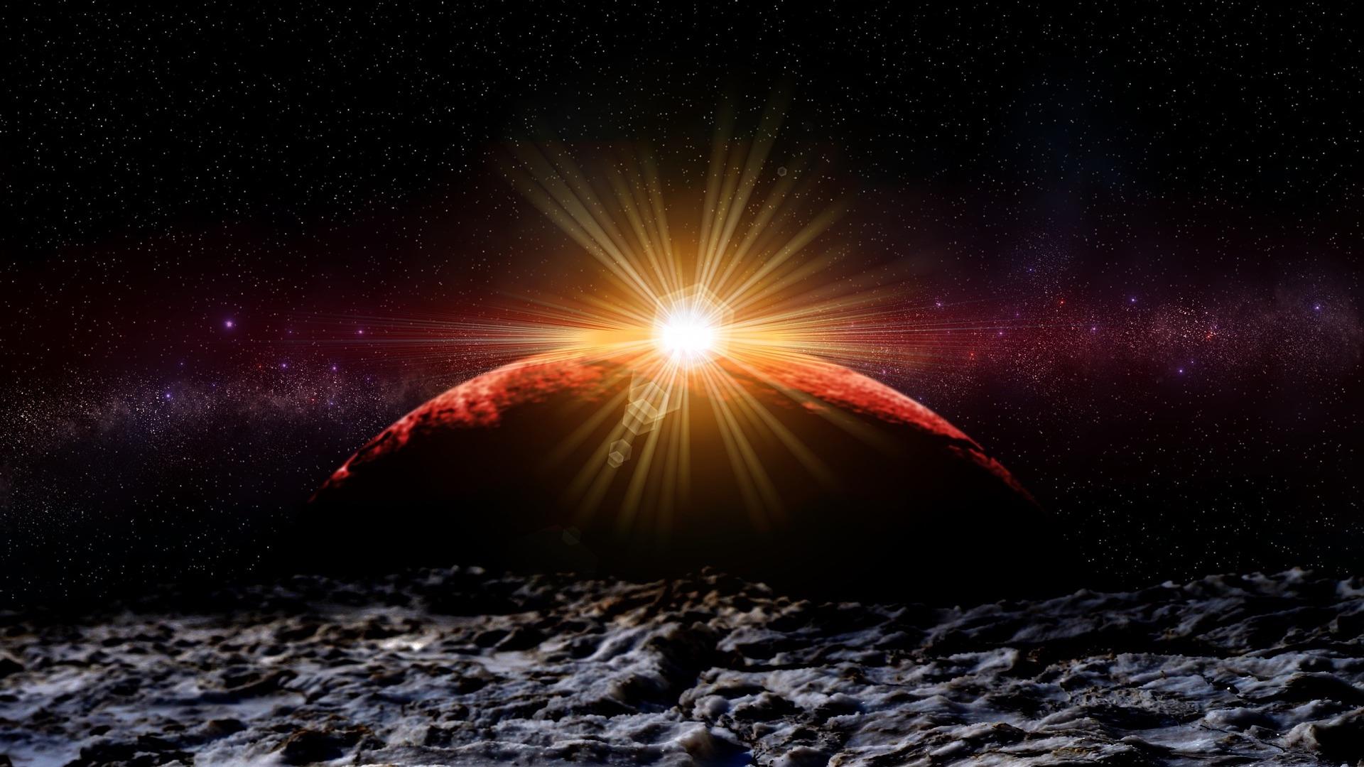 ¿Sólo se pueden ver eclipses en la Tierra? Hay planetas en donde no