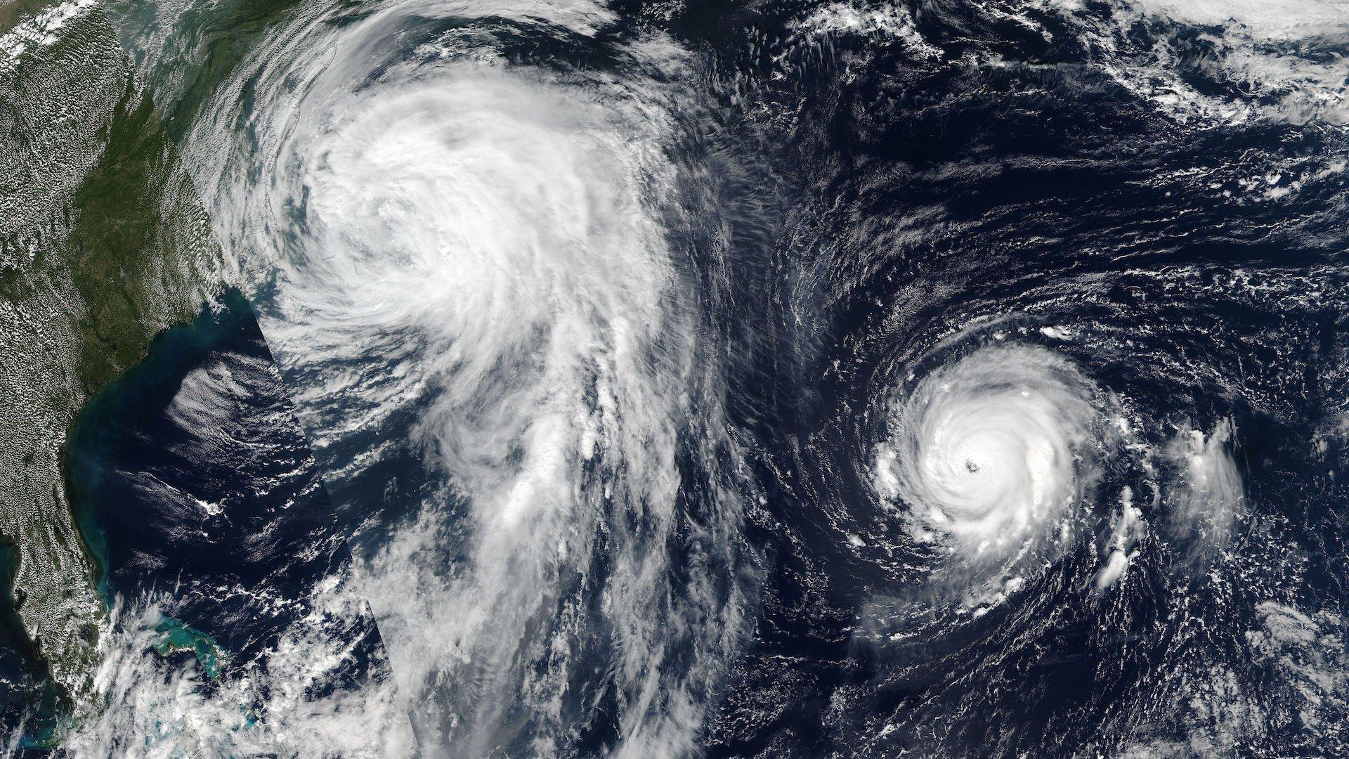 Los peores huracanes de la historia: los más potentes