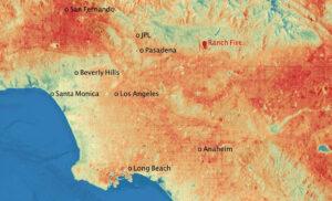 La temperatura más alta de 2020 se registró en California: 54,4 grados